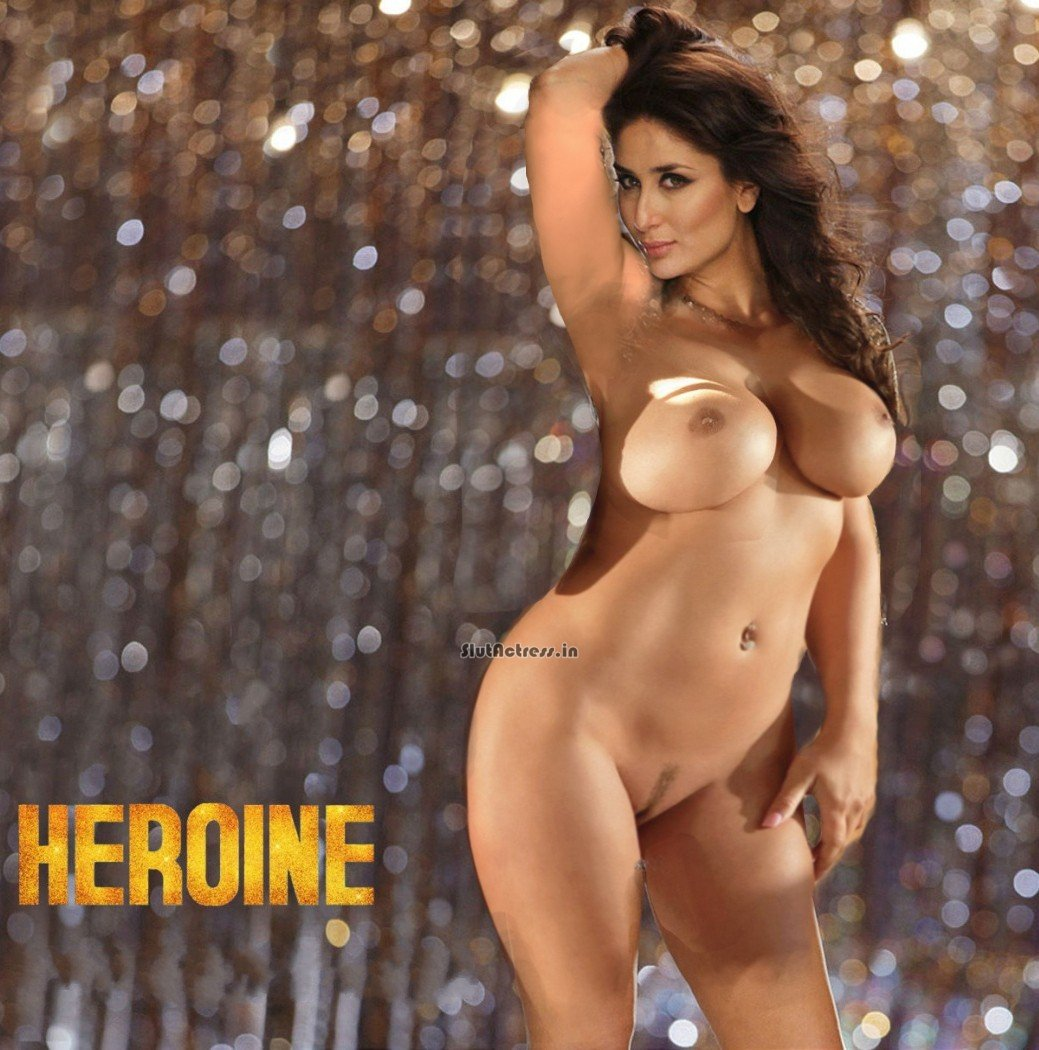 Kareena Kapoor Nude For Promoting Heroine